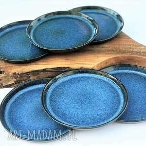 ceramika talerz ceramiczny talerze ceramiczne - zestaw 6 szt, ceramika