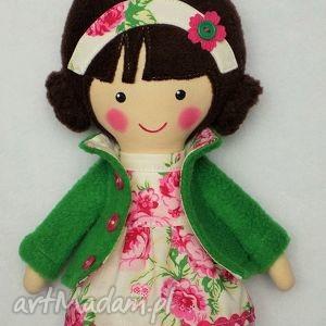 Prezent MALOWANA LALA RÓŻA, lalka, zabawka, przytulanka, prezent, niespodzianka