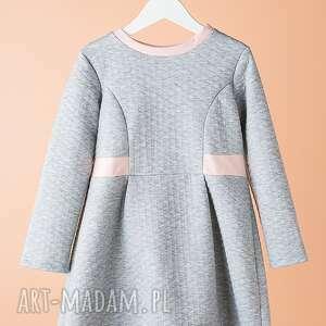 ubranka sukienka dsu02m, pikowana, modna, stylowa, wyjątkowa, elegancka, oryginalna
