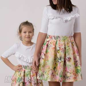 spódnice komplet spódniczek bella, mama i córka, komplet, kwiaty, wiosna