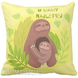 poduszka dekoracyjna na prezent kochana mamo mama dzień matki mamy najlepiej z mamą