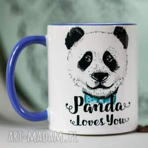 Prezent Kubek Panda loves You..., panda, prezent, personalizacja, ceramika, love