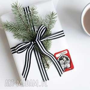święta prezent NAKLEJKI NA ŚWIĄTECZNE PREZENTY... 10 SZT., naklejki, prezenty