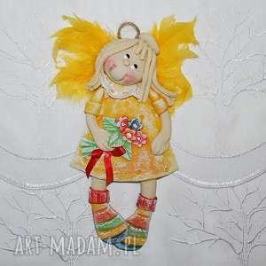 hand made pokoik dziecka danusia - anioł z masy solnej