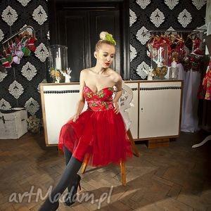 Sukienka Folk Design Aneta Larysa Knap, góralska, folk