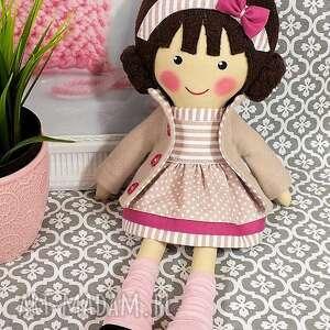 Prezent malowana lala szarlota, lalka, zabawka, przytulanka, prezent, niespodzianka