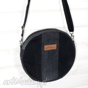 na ramię torba dżinsowa listronoszka koło, listonoszka, denim, torebka