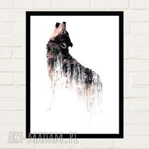wolf plakat 30x40, plakaty