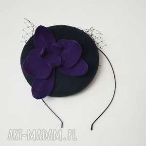 hand-made ozdoby do włosów filemonka orchidea
