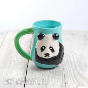ręcznie robione ceramika kubek ceramiczny panda