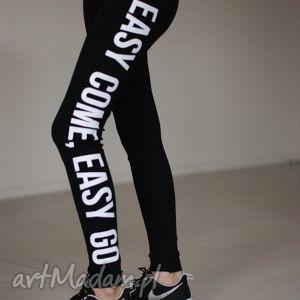 polskie wyszczuplające legginsy getry do bluza, oryginalne, unikatowe, młodzieżowe