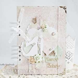 scrapbooking notesy planner ślubny - na zamówienie, ślubny, notes