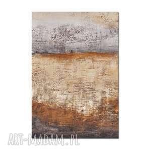 Tierra del Arena 3, abstrakcja, nowoczesny obraz ręcznie malowany,