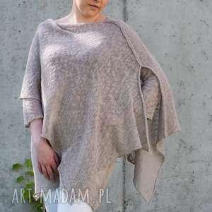 Tunika z narzutką tuniki hermina bawełniana, narzutka bawełna
