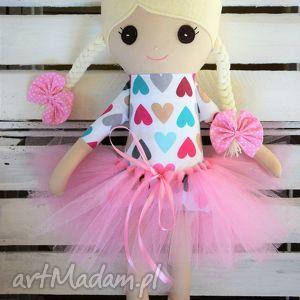 fabryqaprzytulanek szmacianka, baletnica w tutu, lalka, szmaciana