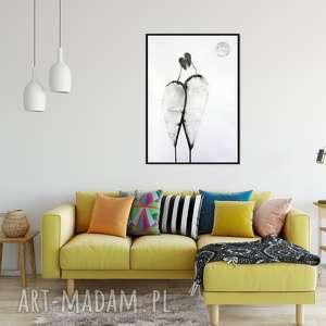 ręcznie wykonane plakaty grafika 70x100 cm wykonana ręcznie, plakat, abstrakcja, elegancki minimalizm, obraz do salonu