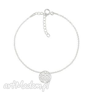 celebrate - circle 2 bracelet, kółko, ażurowy, celebrate, celebrytka biżuteria