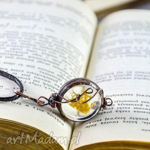hand-made naszyjniki runo - naszyjnik z prawdziwymi porostami
