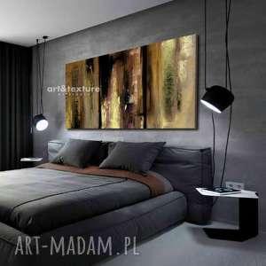 ręcznie robione dekoracje naturalna fatamorgana - abstrakcyjne obrazy do modnego