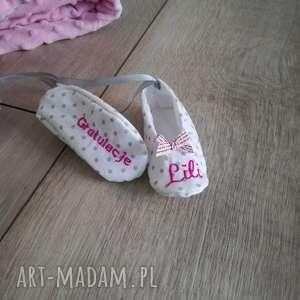 buciki pamiątka narodzin - narodziny, buty, prezent