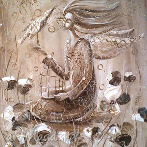 obrazy bajki białego ptaka, bajki, ptak, anioł, wydruk, 4mara, pod choinkę prezent