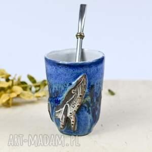 ceramika duże ceramiczne naczynie/kubek do yerba mate / matero