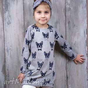 bukiet-pasji opaska na głowę zawiązywana dla dziewczynki
