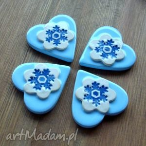 handmade magnesy zimowe