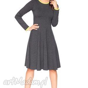 sukienki rozkloszowana sukienka f_2 - rawear, sportowa, dresowa, wygodna, midi