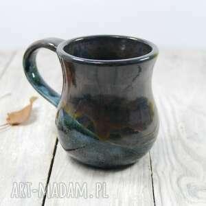 Kubek akwamaryn ceramika mula do kawy, harbaty, na prezent