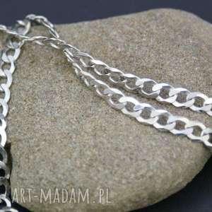 łańcuszek srebrny męski pancerka, naszyjnik, męski, łańcuszek, srebro