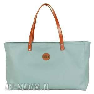 na ramię torba cuboid maxi iv, usztywniana, ekoskóra, handmade, manamana, prezent