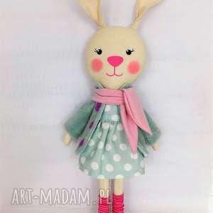 Prezent KRÓLICZKA MATYLDA, króliczka, zabawka, przytulanka, prezent, niespodzianka