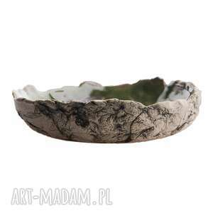 patera / miska ceramiczna, patera, ceramika użytkowa, glina