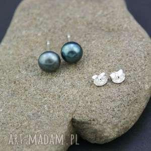 Kolczyki srebro 925 perła naturalna , kolczyki, srebrne, perełki, naturalne