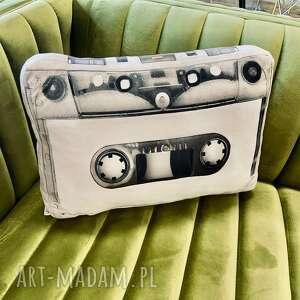 Poduszka kaseta retro poduszki poduszkownia kaseta, poduszka