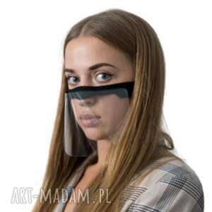 maska mini przyłbica półprzyłbica na twarz nos i usta, półprzyłbica
