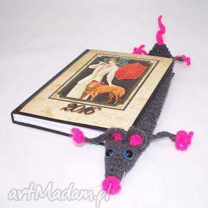 zakładka szczurek, zakładka, szczur, prezent, książka, hobby