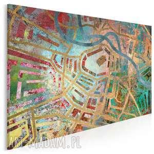 obraz na płótnie - labirynt wrocław 120x80 cm 24601, labirynt