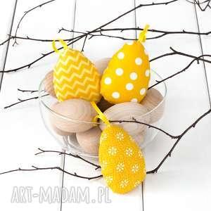 JAJKA WIELKANOCNE, żółte pisanki, wielkanoc, jajka-wielkanocne