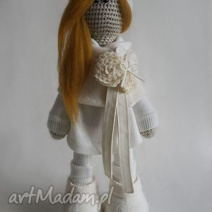 Szydełkowa lalka Amelia - ,lalka,prezent,dekoracja,