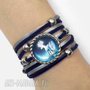 bransoletka jednorożec - księżyc, koń, prezent