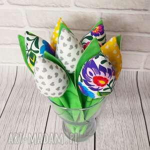 sznurekwiki tulipany bukiet na dzień babci, tulipan, bukiet, kwiaty