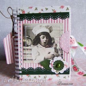 notesy notes na smakowite przepisy, prezent, notatnik, vintage, książka