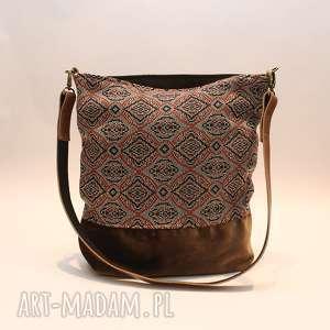 Wzory orientalne, skóra, orientalna, aksamit