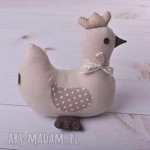 przytulanka dziecięca kura duża, poduszka kura, maskotka, dekoracja