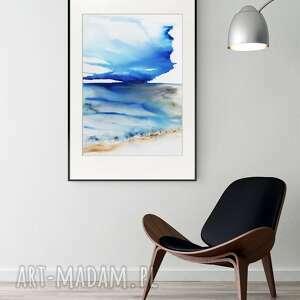 obraz ręcznie malowany 50 x 70 cm, nowoczesna abstrakcja, 2795335