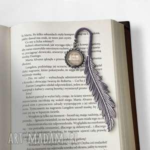 Zakładka do książek z cytatem - ,zakładka,książek,vintage,książki,przekładka,prezent,
