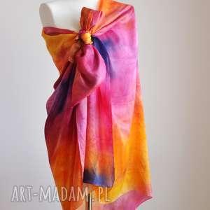 tuniki jedwabny kupon kolorowego materiału, kolorowa tunika, spódnica