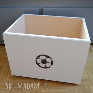 Prezent Pudełko na zabawki Piłka nożna, pojemniki-na-zabawki, futbol, piłka-nożna